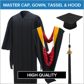 Master Caps, Gowns, Tassels & Hoods