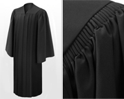 Deluxe Bachelor Graduation Gowns