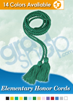 Elementary Graduation Honor Cords