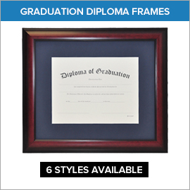 Graduation Diploma Frames