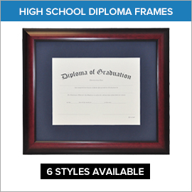 High School Diploma Frames