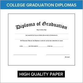 College Diplomas