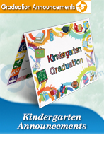 Kindergarten Graduation Announcements