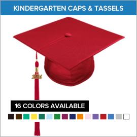 Kindergarten Caps & Tassels