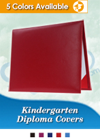 Kindergarten Graduation Diploma Covers