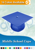 Middle School Graduation Caps
