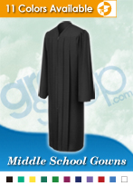 Middle School Graduation Gowns