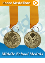 Middle School Graduation Medals