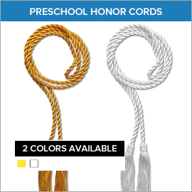 Preschool Honor Cords