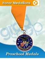 Preschool Graduation Medals