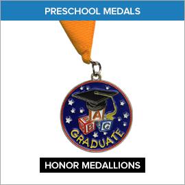 Preschool Medals