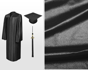 Shiny Bachelor Graduation Caps, Gowns & Tassels
