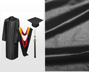 Shiny Bachelor Graduation Caps, Gowns, Tassels & Hoods