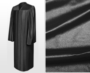 Shiny Bachelor Graduation Gowns