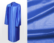 Shiny High School Graduation Gowns