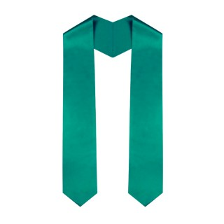 Emerald Green College Stole