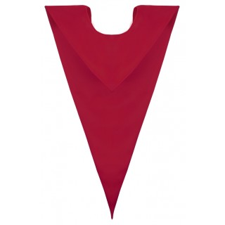 Red Elementary V Stole