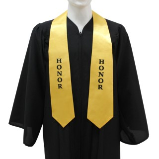 Gold High School Honor Stole