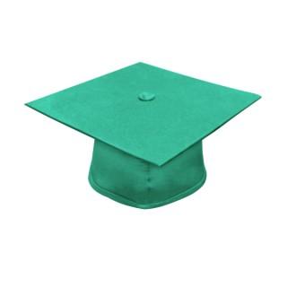 Matte Emerald Green Bachelor Academic Cap