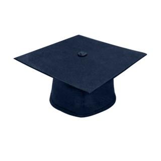 Matte Navy Blue Middle School Cap