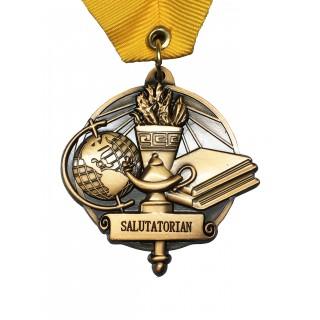 Salutatorian Middle School Medal