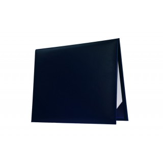 Navy Blue College Diploma Cover