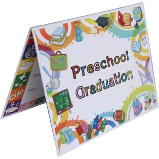 Preschool Graduation Announcement