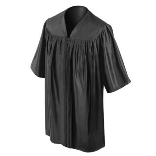 Black Preschool Gown