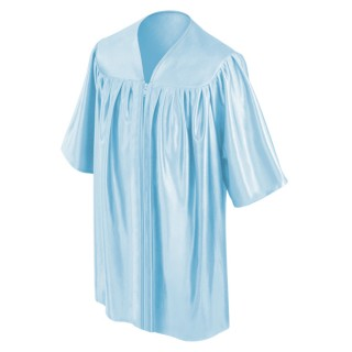 Light Blue Kindergarten Gown
