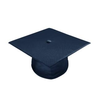 Shiny Navy Blue Bachelor Academic Cap