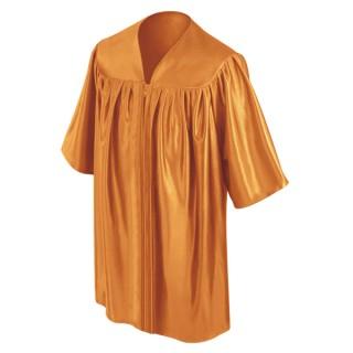 Orange Preschool Gown
