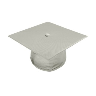 Shiny Silver High School  Cap