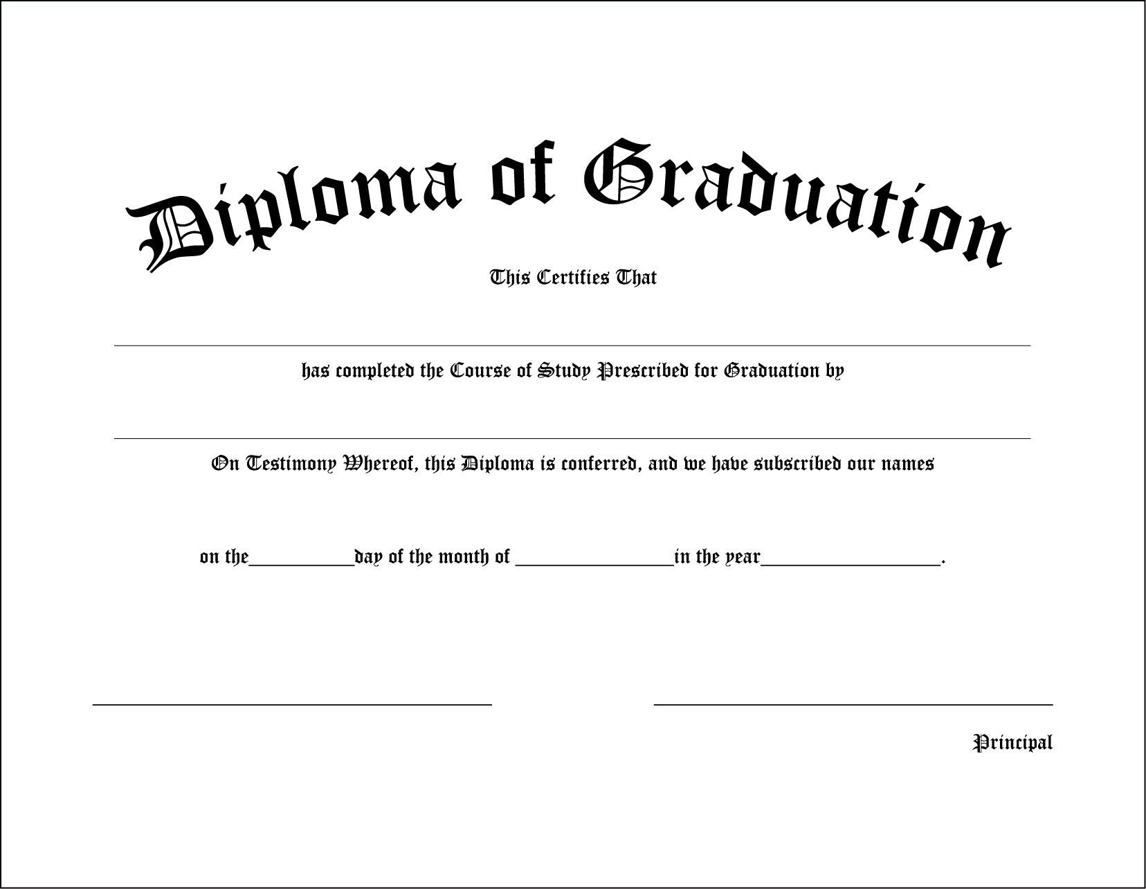 Printable diplomas for high school fieldstation middle school diploma gradshop printable yadclub Choice Image