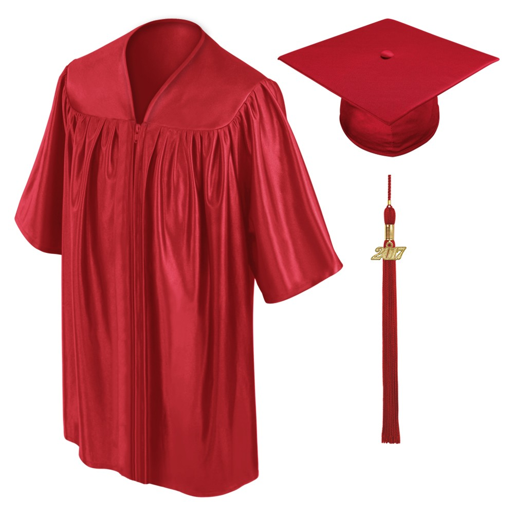 green graduation cap and gown   Gowns Ideas