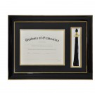 High School Tassel and Diploma Frame