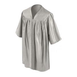 Silver Kindergarten Gown
