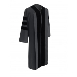 Classic Doctoral Graduation Gown