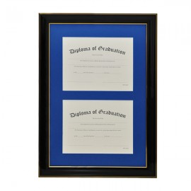 University Double Document Diploma Frame