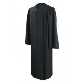 Eco-Friendly Black Bachelor Gown