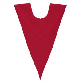 Red V Stole