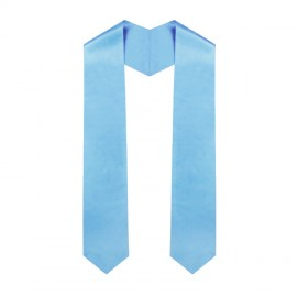 Light Blue Middle School Stole