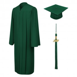 Matte Hunter Middle School  Cap, Gown & Tassel
