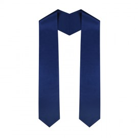 Navy Blue Middle School Stole