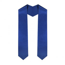 Royal Blue High School Stole
