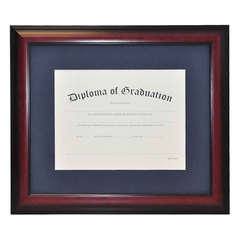 High School Single Document Diploma Frame Gradshop