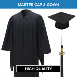 Master Caps, Gowns & Tassels