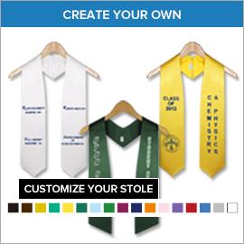 College Custom Graduation Stoles | Gradshop