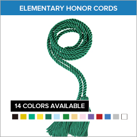 Elementary Honor Cords
