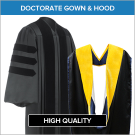 Academic Regalia Gown & Hood Packages