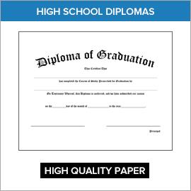 High School Diplomas